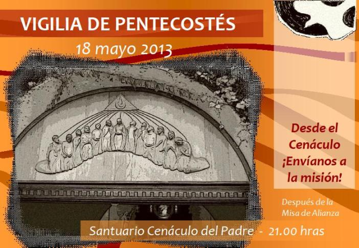 Vigilia Pentecostés 2013