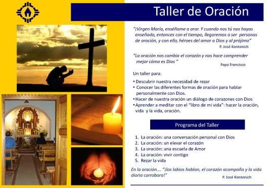 Taller Oración